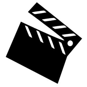 Movie-clipart-black-and-white