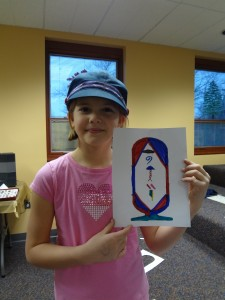 Help your kid turn his or her name into a cartouche like Ruthie did.
