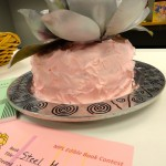 "Nancy's cake was inspired by ""Steel Magnolias."""