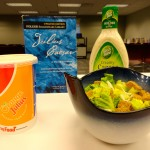 Salad? Orange Julius? But what could that... wait, I just got it. Standing ovation.