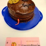 """Josh's """"If You Give a Mouse a Cookie"""" cake even had chocolate chips on the inside."""