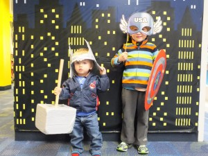 Join the Avengers this Marvelous Monday at Mentor Library's Main Branch.