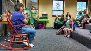 We talked about recycling during our Community Hero Story Time on Thursday.