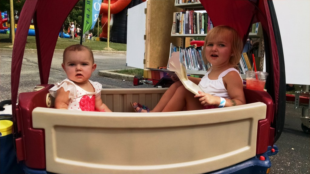 You're never too young to enjoy a book.