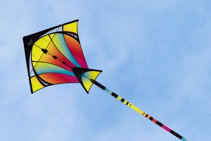 Kids can craft some cool kites with us on Friday.