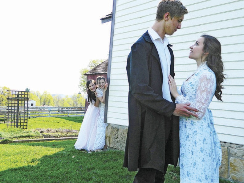 "The actors of Geauga Lyric Theater will reprise their performance of ""Pride & Prejudice"" Oct. 13 at Mentor Library's Main Branch."