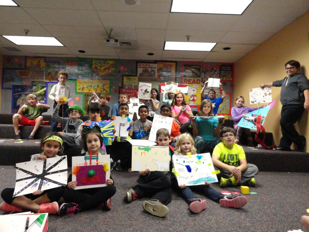 Our young artists!