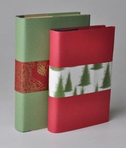 Unwrap a book at Mentor Library.