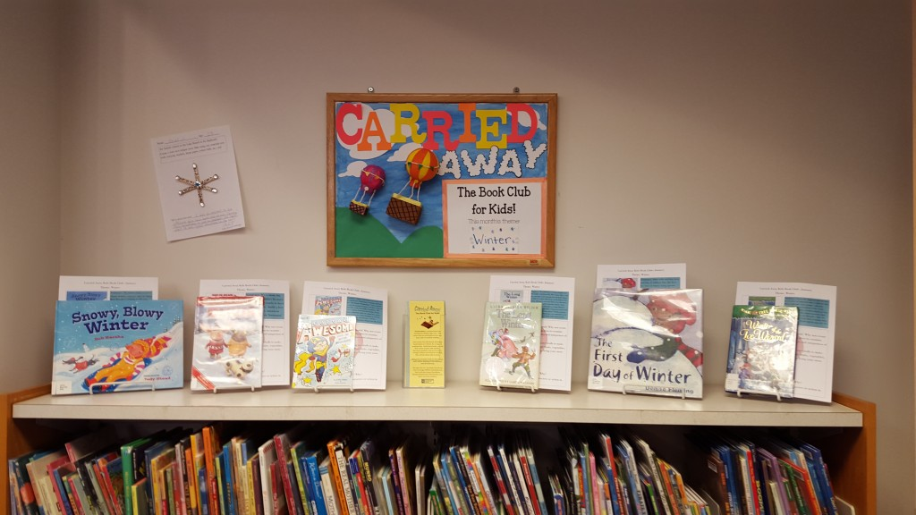 Our new Carried Away Book Club is great for all kids, because it lets them read and create at their own pace.