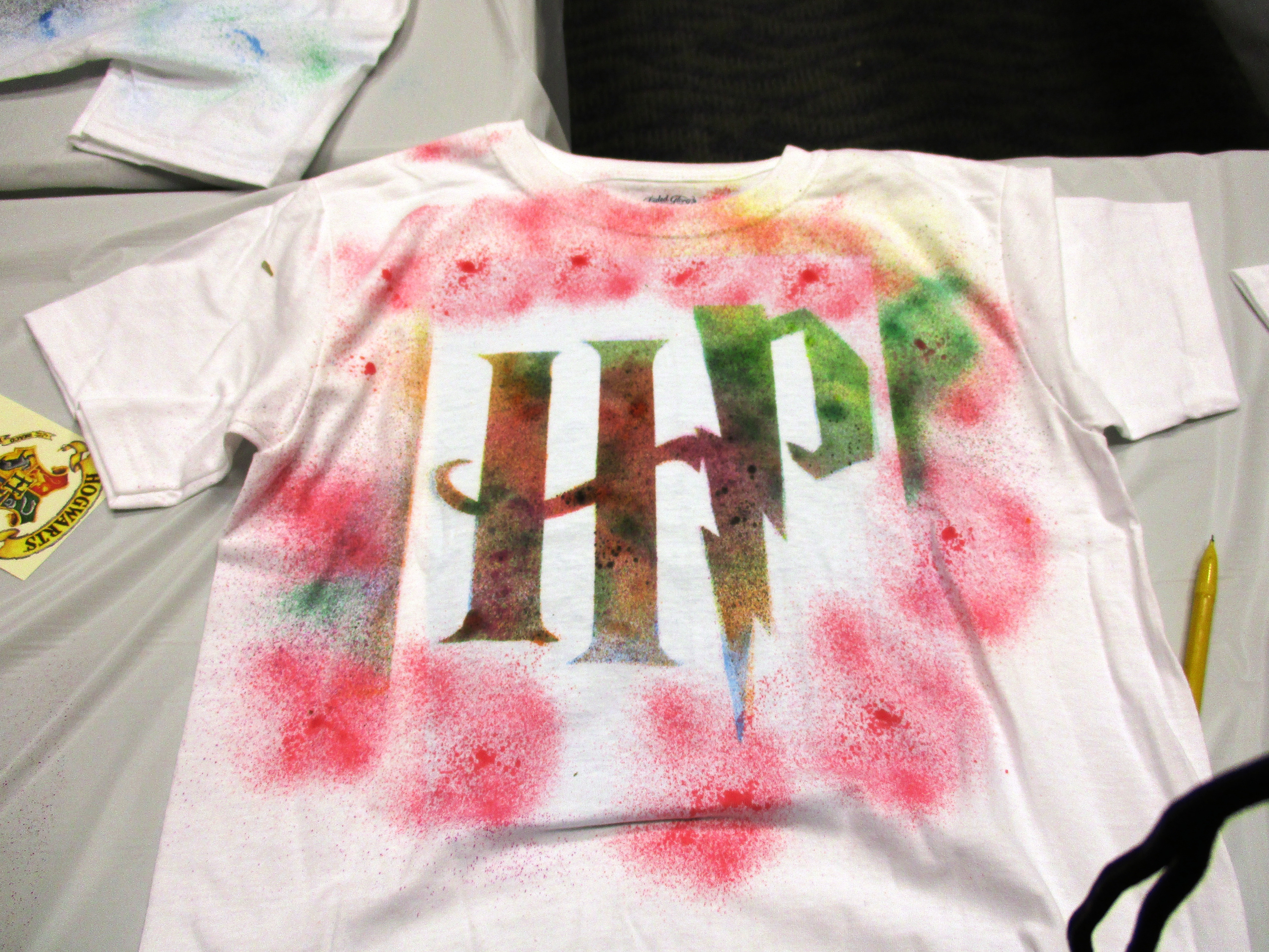 Kids Made Their Own Harry Potter Shirts At Our Lake Branch And You Can Do