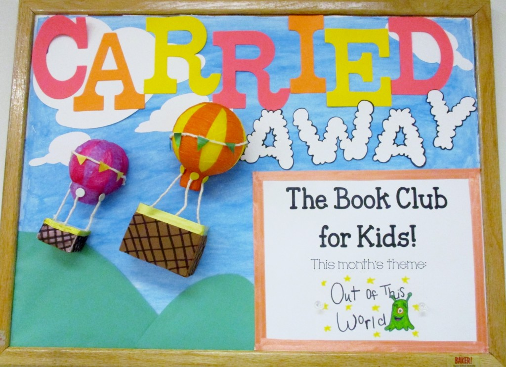 Our Carried Away Book Club is great for all kids, because it lets them read and create at their own pace.