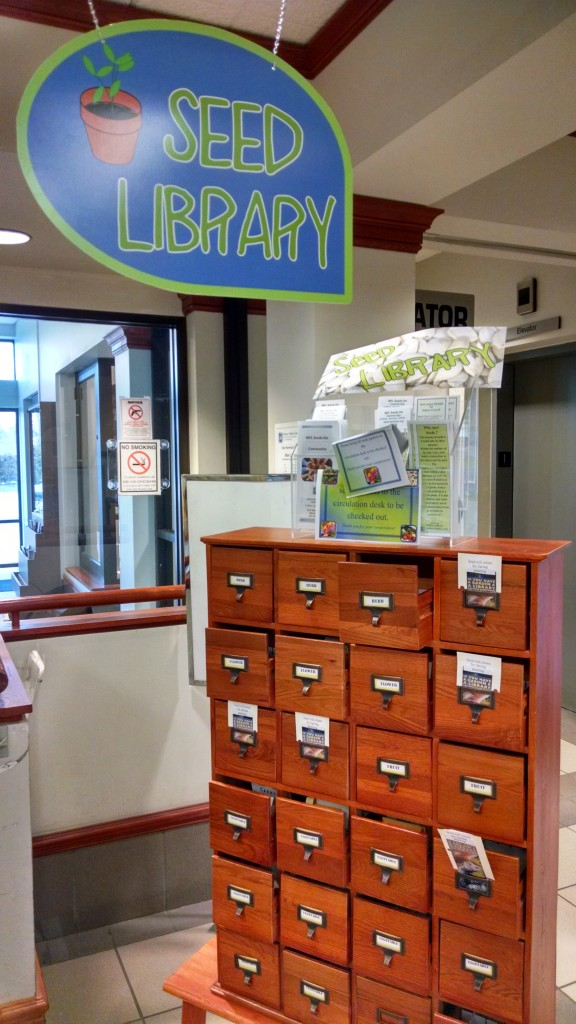 You can get all types of seeds for free from our seed library.