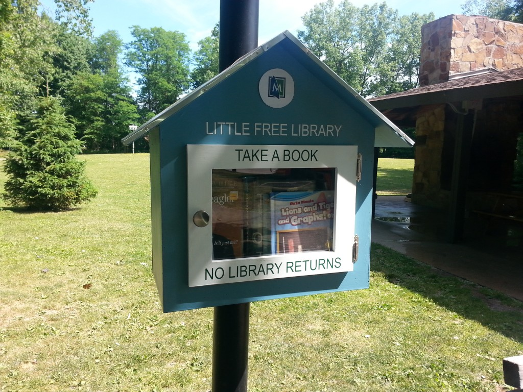 You can now get books from our Little Free Library at Veterans Park in Mentor.