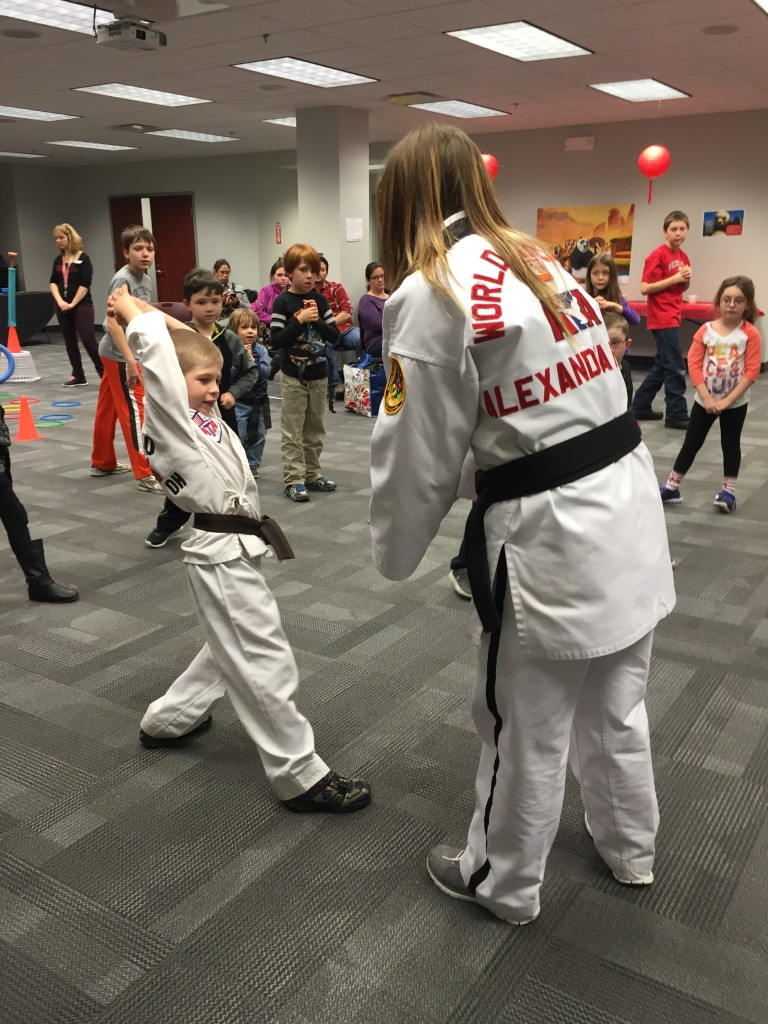 Karate for Kids will teach  children some basic techniques during Move-It Monday.