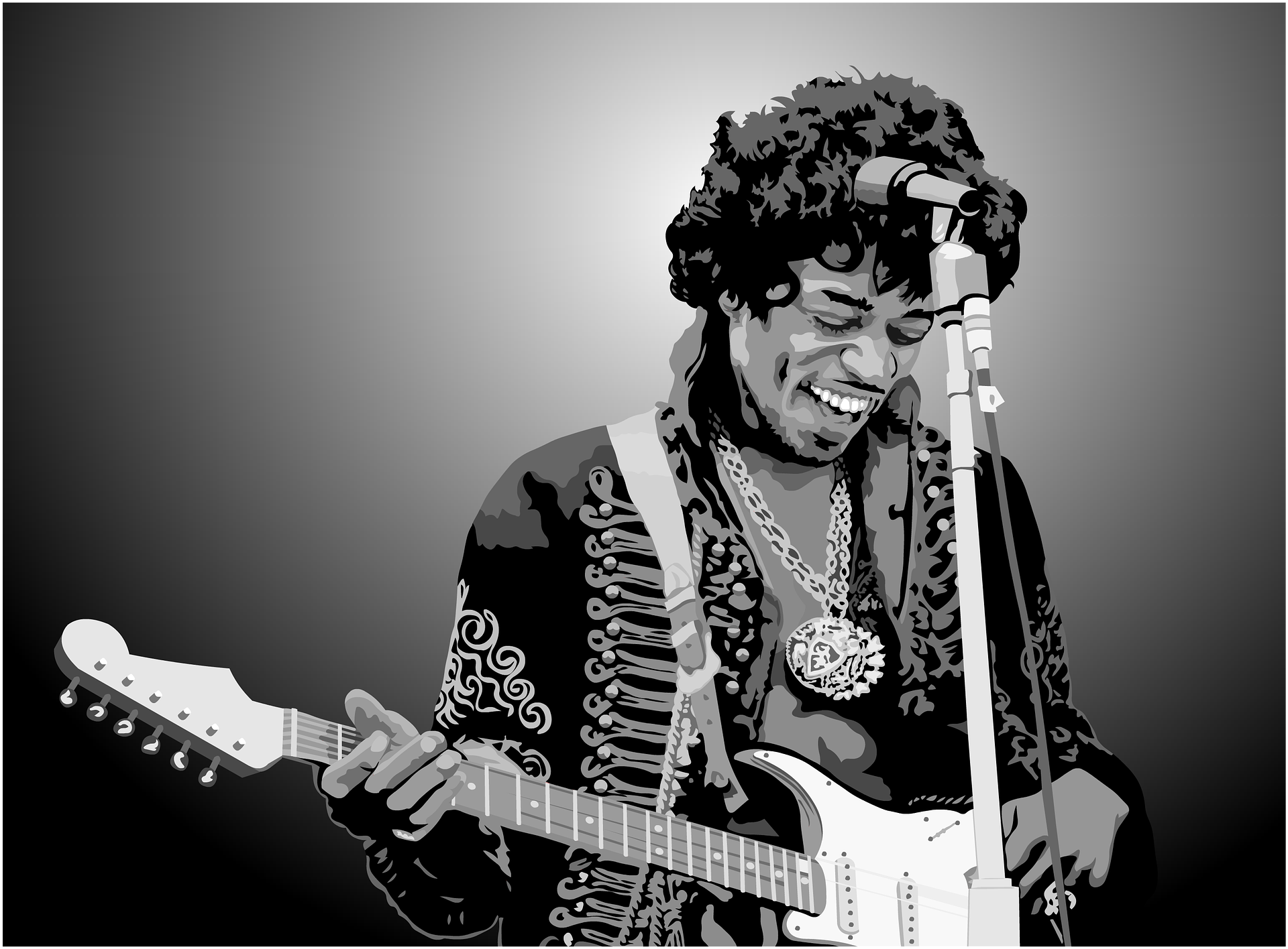 an introduction to the life of jimi hendrix Jimi hendrix treated his guitar like an inseparable part of his body every lick he produces, every chord he squeezes out of it seems so natural, so homely, so fluent, that i'm really left wondering whether he was born with a guitar in his hand.