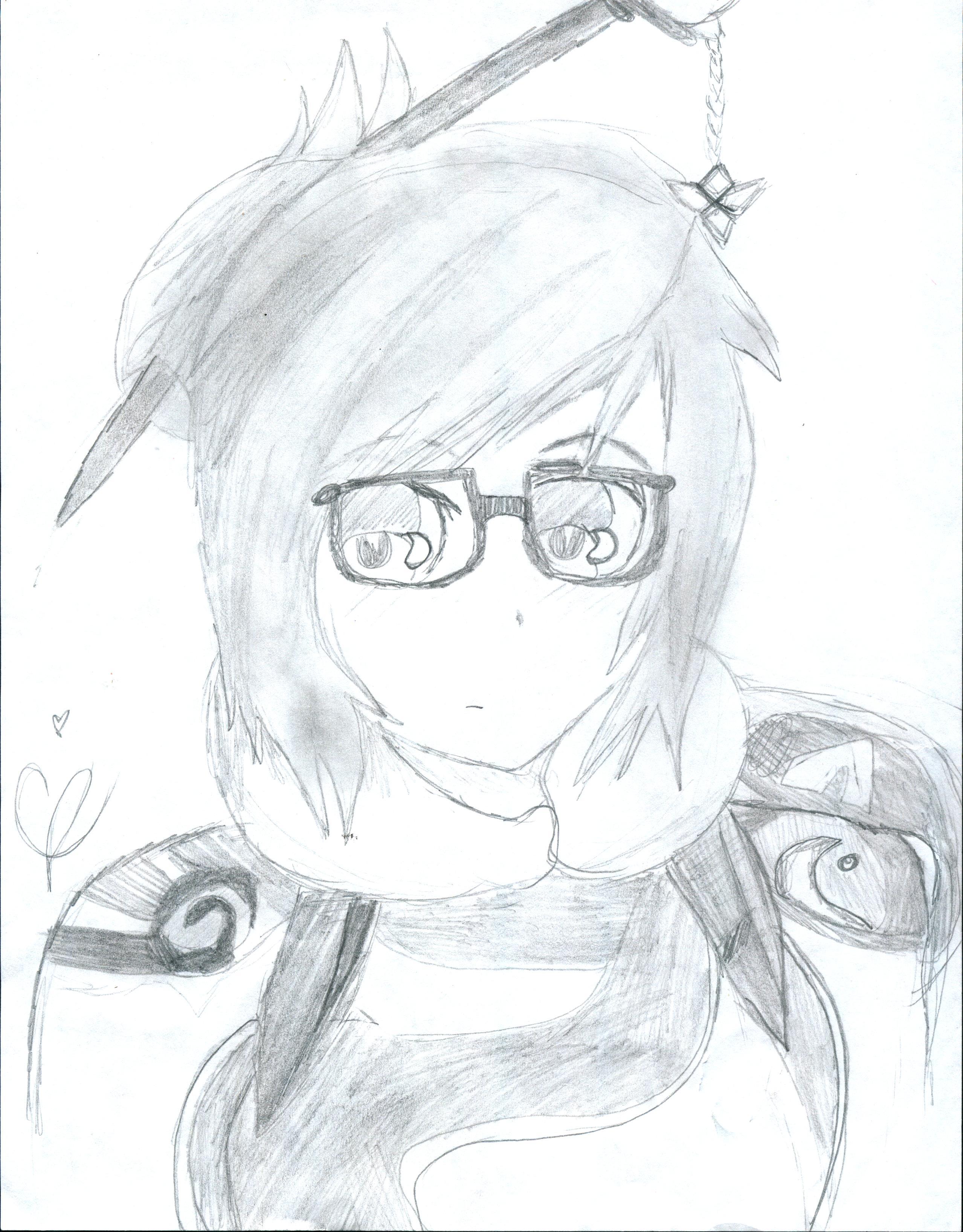 Monochrome Mei