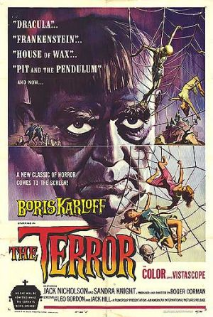 The Terror, starring Boris Karloff, is one of two