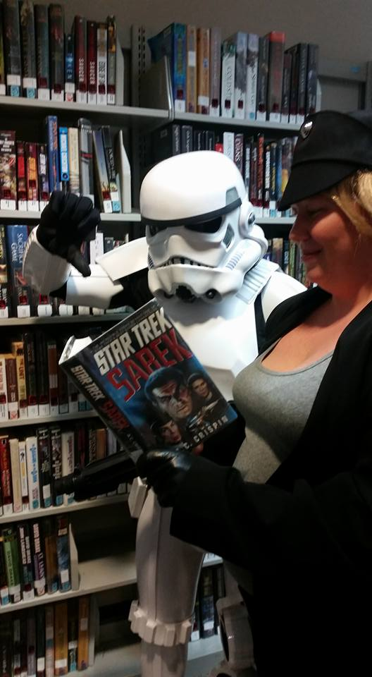 Storm troopers can be so petty.