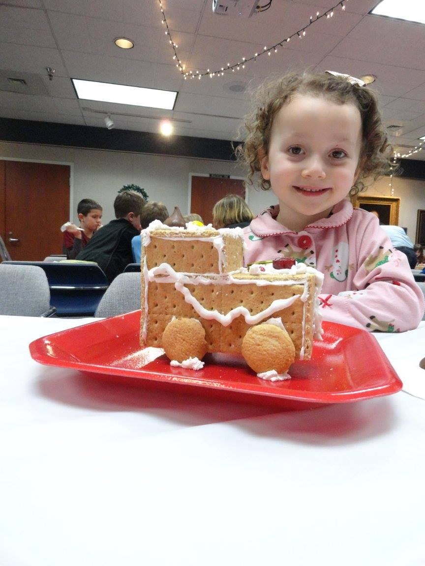 Make Gingerbread Houses With Your Family Mentor Public