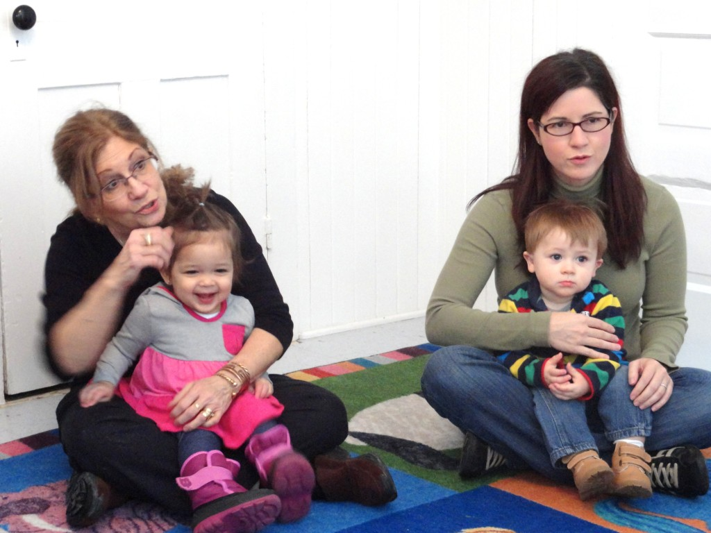 Bring your newborns and toddlers to Mother Goose on the Loose.