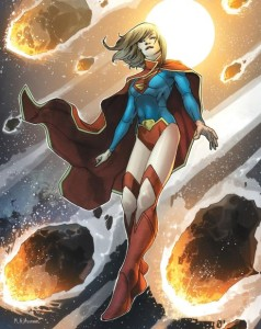 Supergirl's New 52 costume