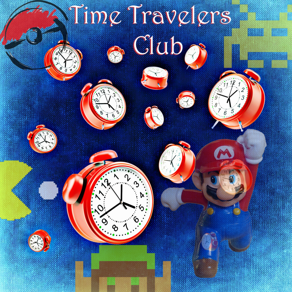 Play classic video games with our Time Travelers Club on Aug. 2.