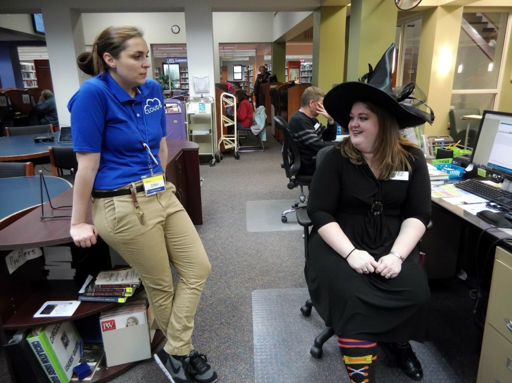 If you think the witch is the scarier costume, then you've never seen Superstore.