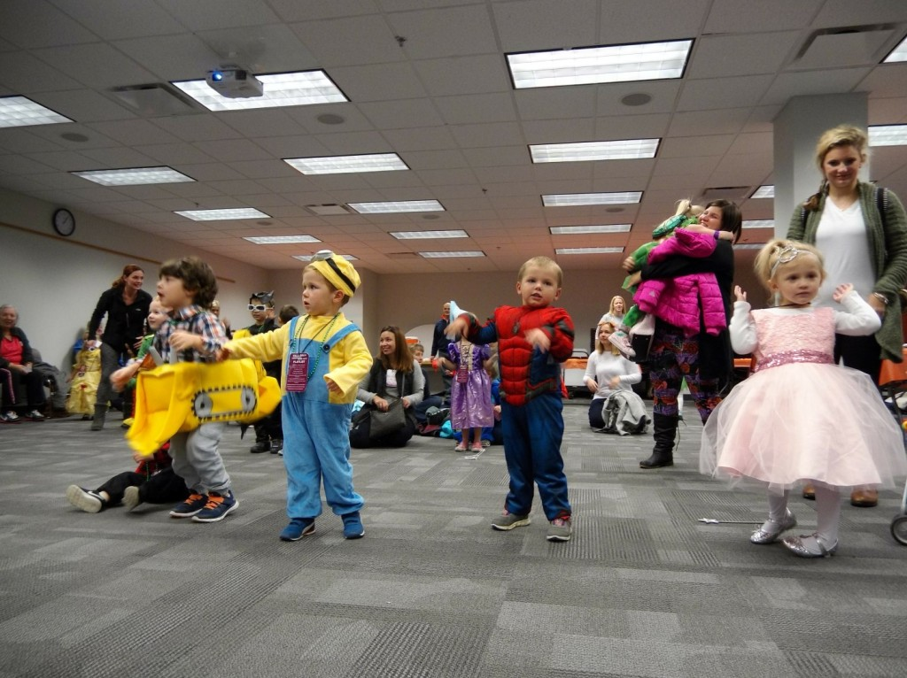 Kids shake their sillies out at our Fall Ball.