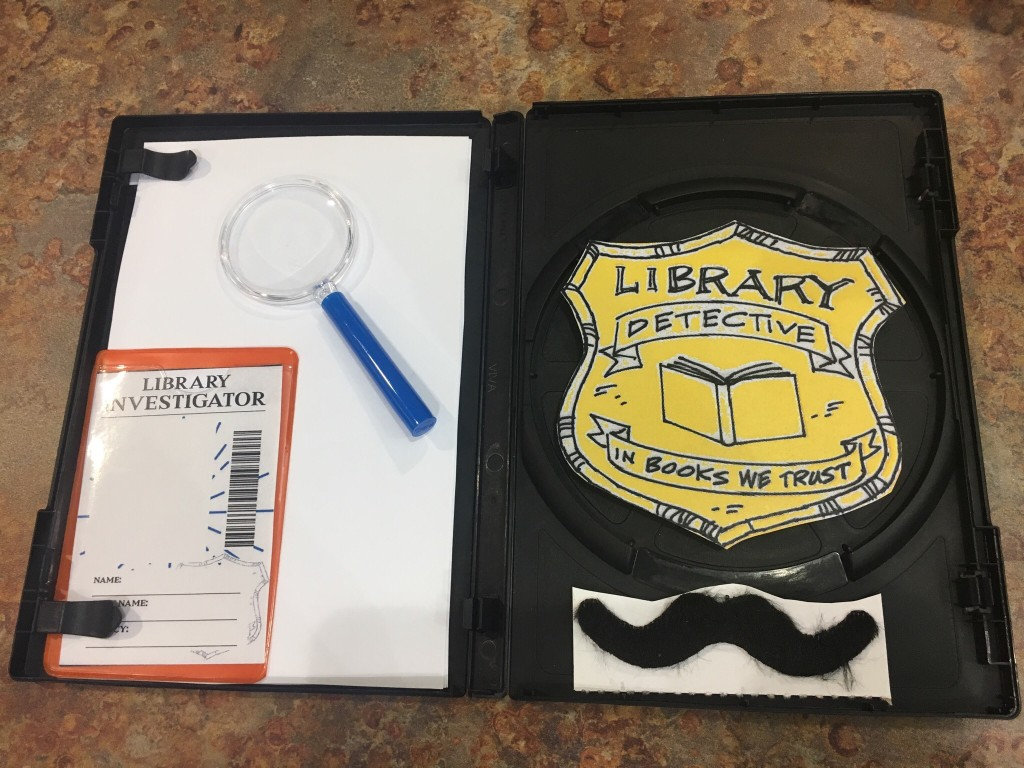 Kids from eight to 12 years old can join the Library Detective Agency and help us crack a case on Thursday, Jan. 25.
