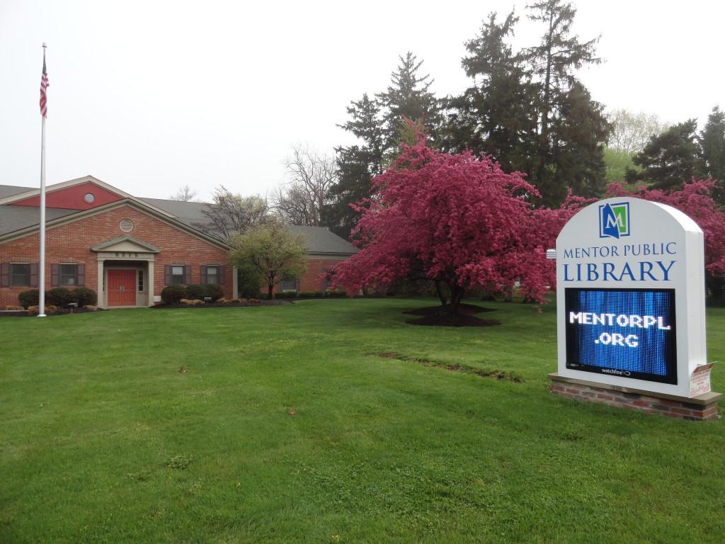 Mentor Public Library spring
