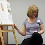 """Ms. Lisa reads """"The Tale of Peter Rabbit"""" and the kids act it out using yoga poses."""