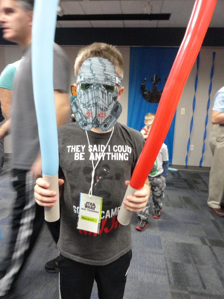 It's party time for all padawans on Wednesday, May 23, at our Lake Branch.