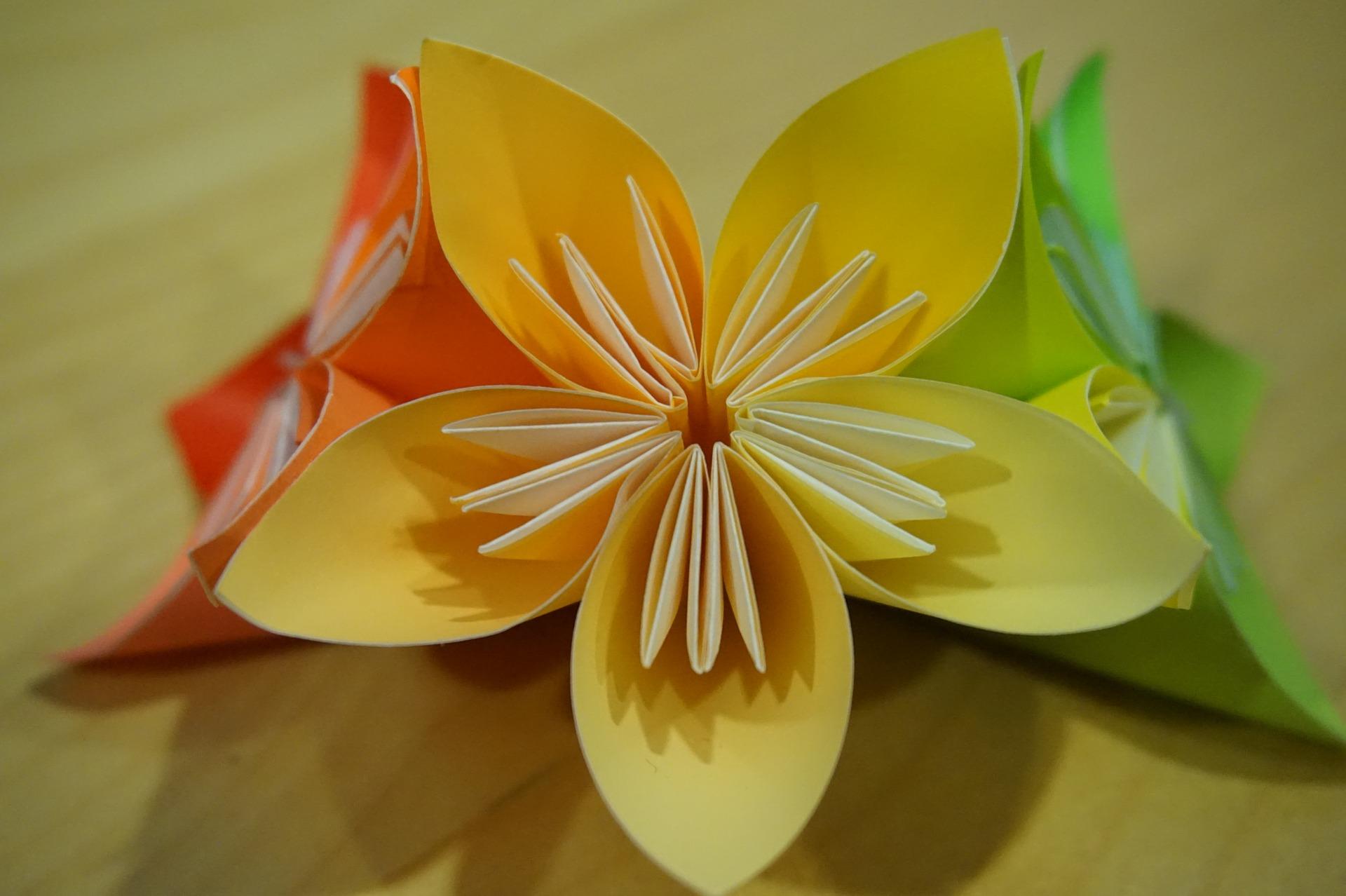 Springtime Origami At Mentor Public Library Mentor Public Library