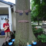 Kids consult the Great Deku Tree to see what color fairy they should get. (That sentence makes a lot more sense if you've ever played a Zelda game.)