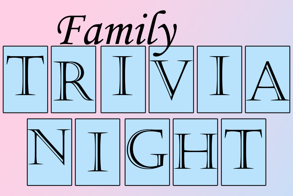 Team up with the whole family for trivia night on Wednesday, Aug. 8, at Mentor Public Library's Main Branch.