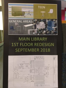 Changes are coming to the first floor of Mentor Public Library's Main Branch.