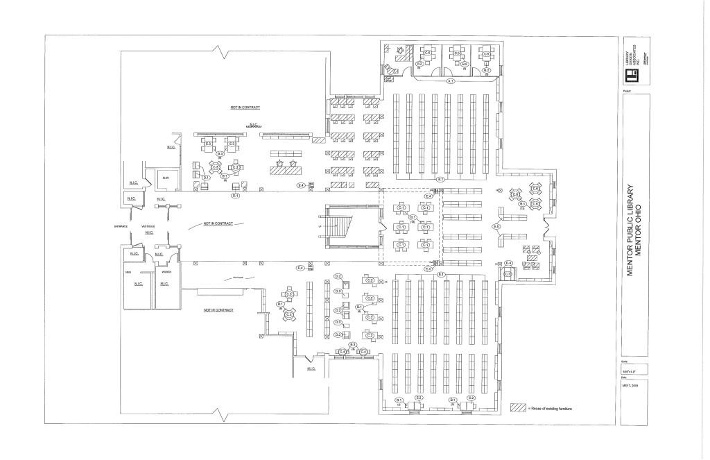 LDA Final Floor Plan - Mentor Public Library