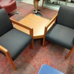 Chairs and end table combo: $75
