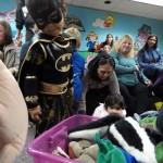Batgirl picks a puppet