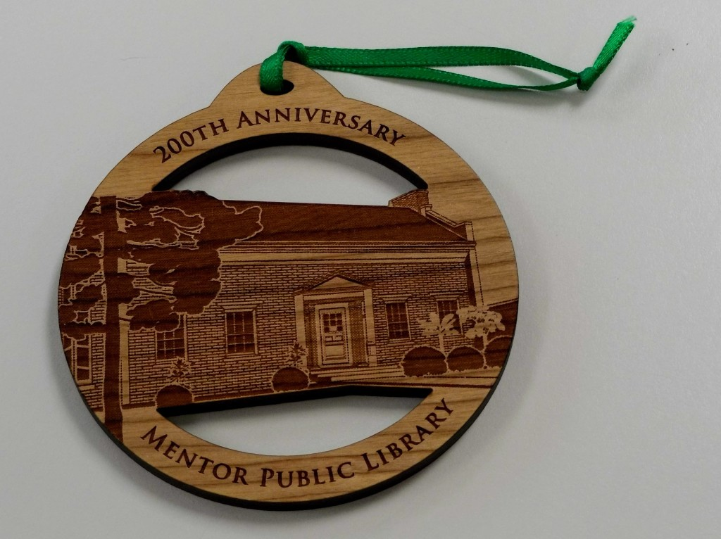 You can support the library and celebrate its 200th anniversary by purchasing a Christmas ornament.