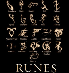 Teens can make runes during our Shadowhunter Academy at The HUB.