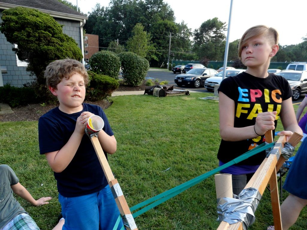 Make catapults and launch marshmallows at our Headlands Branch on March 23.
