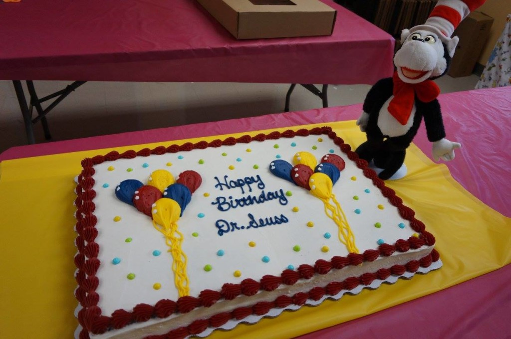 Celebrate Dr. Seuss' birthday with games, crafts and stories on Friday, March 1, during Read Across America.