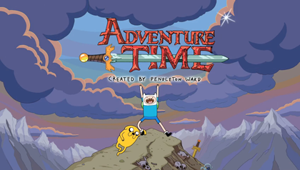 Adventure Time is on Hoopla. Come on and grab your friends!