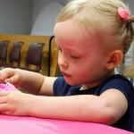 Mary makes a pinkaliciously perfect cupcake.