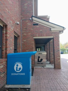 You can now drop off donations at our Main Branch.