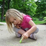 Summer is the perfect time for Sidewalk Chalk