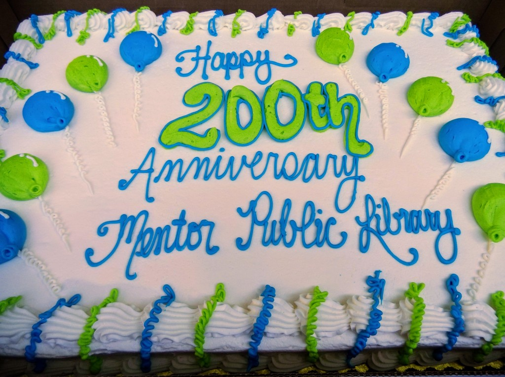 Thanks to everyone who helped us celebrate 200 years of being your community library!