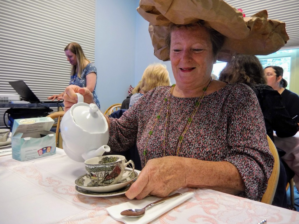 We celebrate the return of Downton Abbey with a special themed tea party.