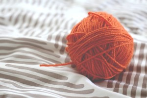 knit stitch yarn